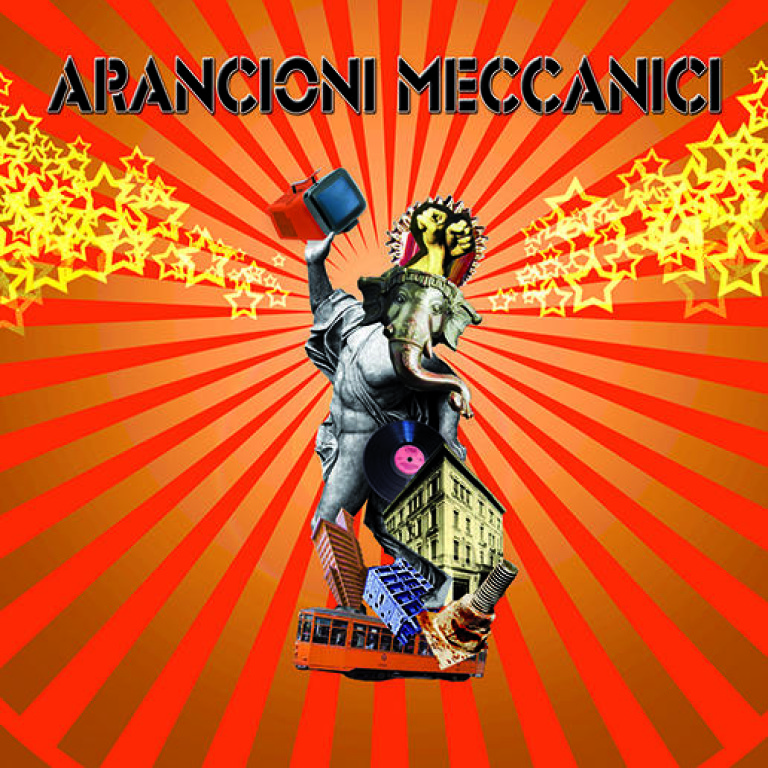 Studiofluido - Copertina CD Arancioni Meccanici