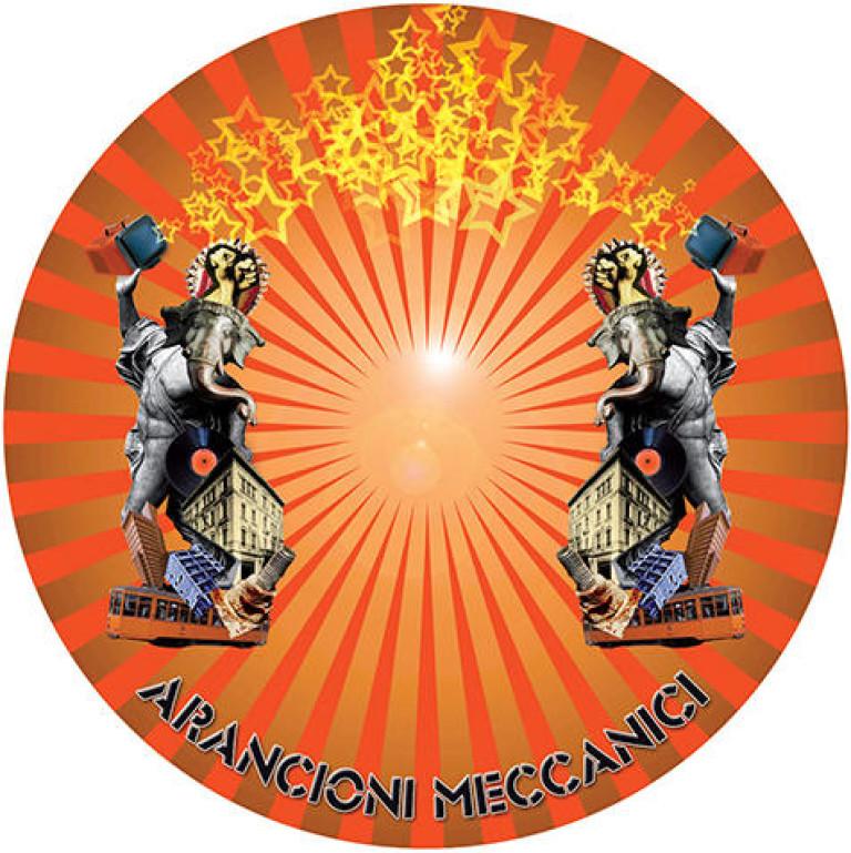 Studiofluido - Bollo adesivo per CD Arancioni Meccanici